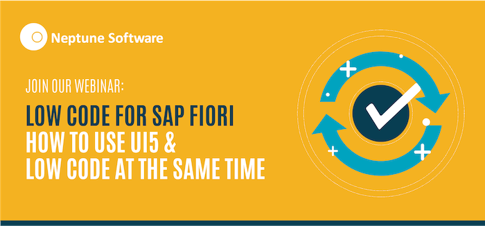 Low-Code for SAP