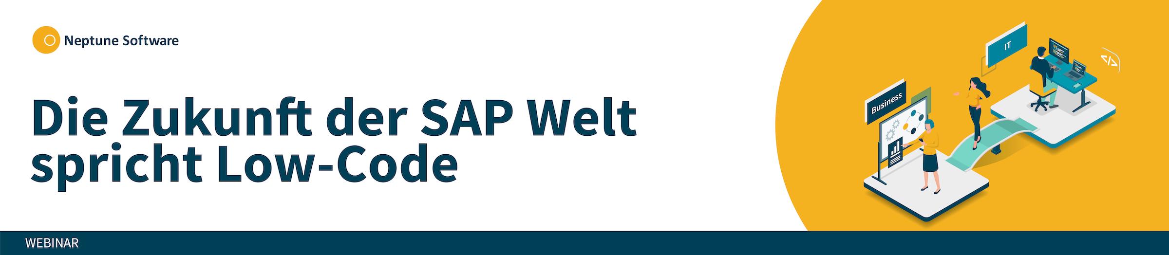 SAP Fiori App Entwicklung mit Low Code
